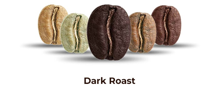 PMC dark roast coffee
