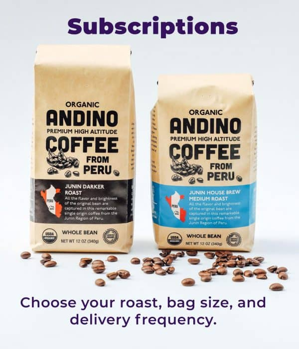 Andino Coffee Subscriptions